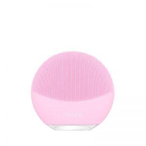 Foreo Luna 3 mini, limpieza facial, cuidado facial, limpieza en 30 segundos, limpieza piel, innovación cosmética, bienestar, belleza, innovación facial, dispositivos cosmética facial, innovación bienestar, cuidado de la piel, femtech, tecnología cosmética.