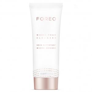 Foreo Micro Foam, Foreo Clenaser, Foreo limpieza, limpieza facial, innovación cosmética, bienestar, belleza, innovación facial, dispositivos cosmética facial, innovación bienestar, cuidado de la piel, femtech, tecnología cosmética.